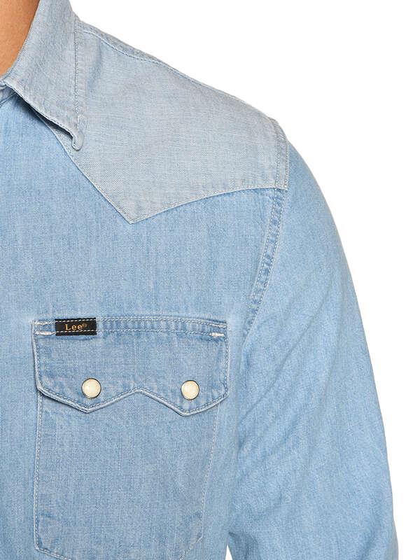 Regular-Fit Denim Shirt