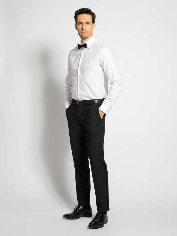 Custom Fit Shirt + Bow Tie