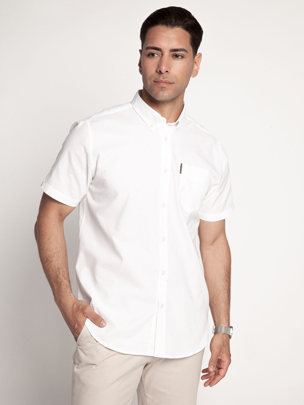 Regular-Fit Short Sleeve Shirt