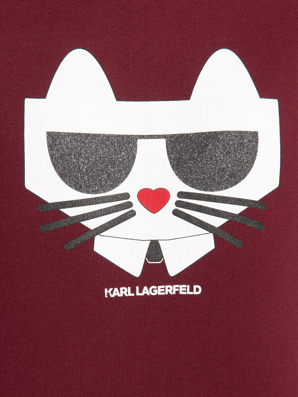 Cropped Choupette T-Shirt